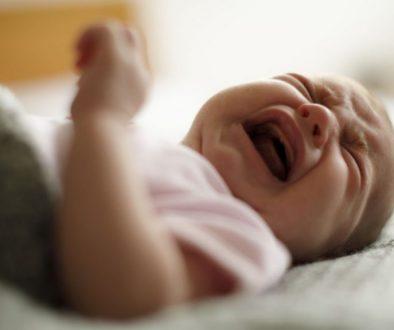 nenechajte dieťa vyplakať