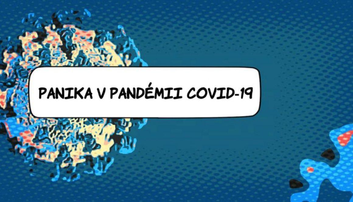 Panika v pandemii Covid-19